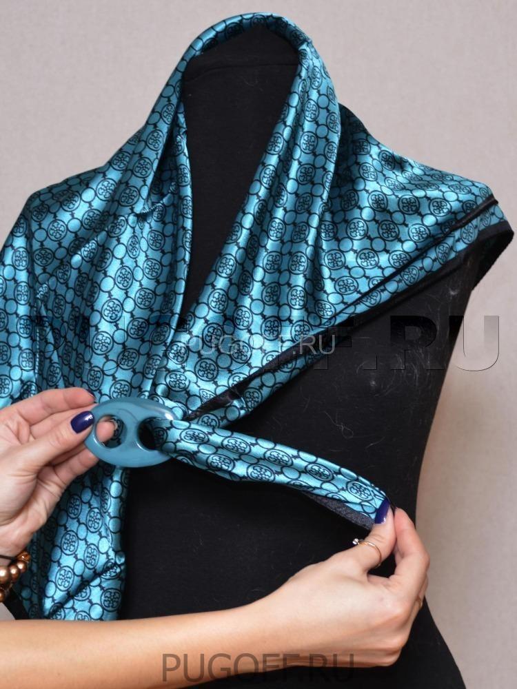 Зажимы для шарфов и платков своими руками 18